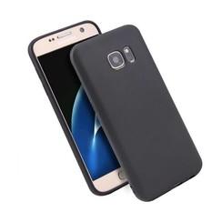 Silicone case Samsung S7 - zwart