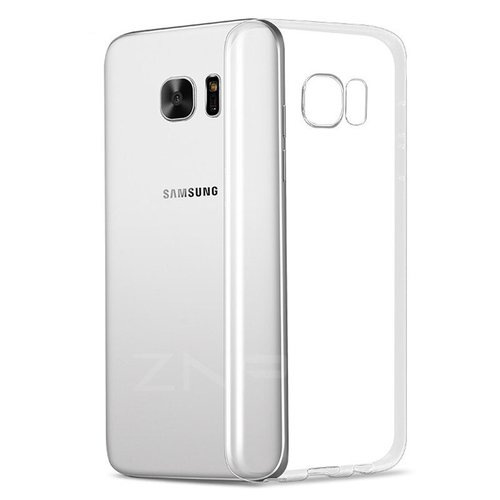 handelshuys Silicone case Samsung S7 edge - transparant