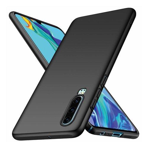 handelshuys Silicone case Huawei P30 - zwart