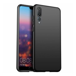Silicone case Huawei P20 pro - zwart