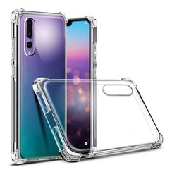 Silicone case Huawei P20 pro - transparant