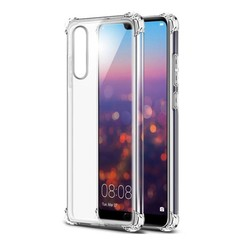 Silicone case Huawei P20 - transparant