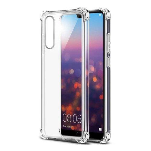 handelshuys Silicone case Huawei P20 - transparant