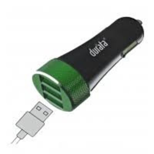 Durata Autolader 5,1 A. met 3 USB poorten.