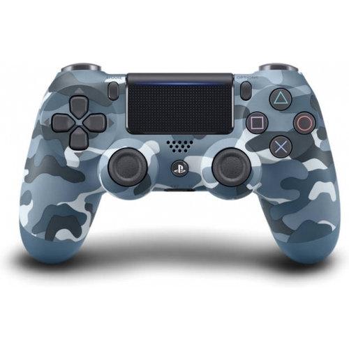 Sony Sony Dualshock 4 Controller V2 - PS4 - camo blauw