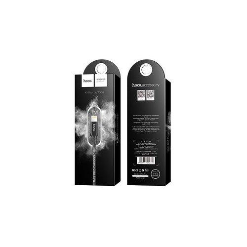 Hoco Hoco USB kabel naar Lightning zwart - 1m