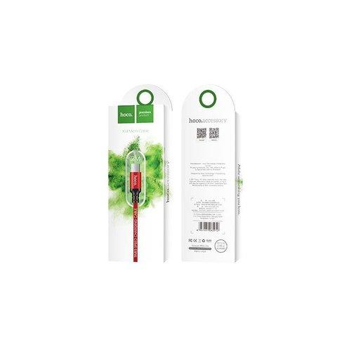 Hoco Hoco USB kabel naar Micro USB rood - 2 m