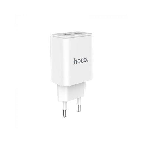 Hoco HOCO C62A Victoria USB Fast Charging oplader adapter met 2 poorten