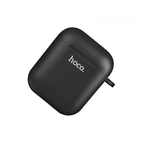 Hoco Hoco Wireless Charging Hoes voor Airpods 1 & 2 | Zwart