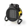 nedis Keramische Ventilatokachel dustrieel Design | Thermostaat | 3 Standen 2000 W | Geel