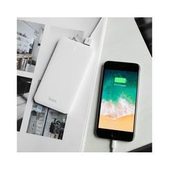 Hoco Powerbank with Digital Display 5.000mAh White