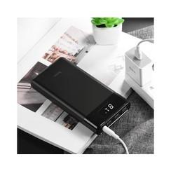 Hoco Powerbank 30.000 mAh (met display + fast charge)