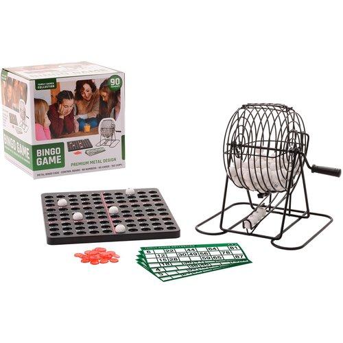 family games collection Metalen Bingo spel met 90 nummers en 40 kaarten