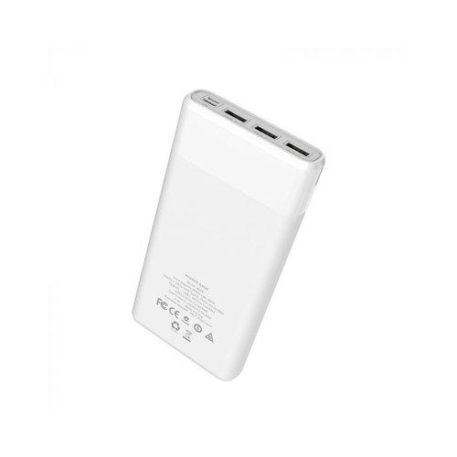 Hoco Hoco Powerbank 30.000 mAh (met display + fast charge) - wit