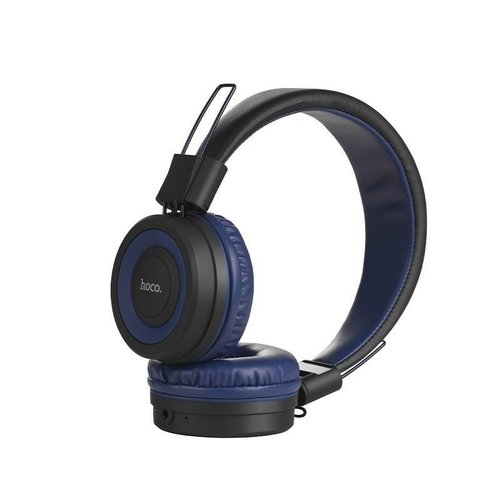 Hoco Hoco Bluetooth Wireless Headphone Black-Blue
