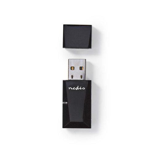 nedis Dongle voor Draadloos Netwerk | N300 | 2,4 GHz | Zwart