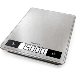 Digitale keukenweegschaal - Soehnle - 24 x 17,5 cm - Tot 15 kg - RVS
