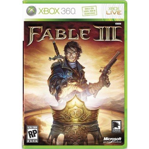 Xbox 360 Fable 3 xbox 360