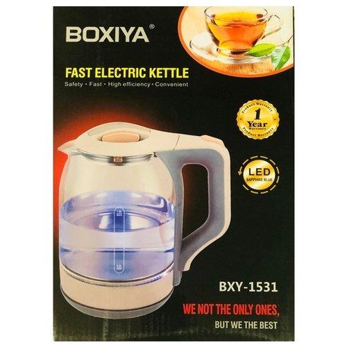 Boxiya Boxiya Fast Electric Kettle LED Sapphire Blue, AGK022