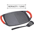 Royalty Line Royalty Line - Grillplaat - Marble Coating - Met ribbel