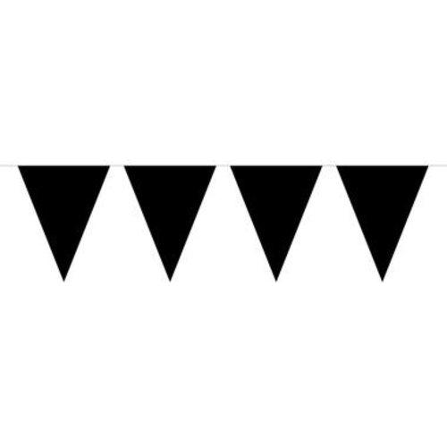 Folat Vlaggenlijn Zwart 10mtr