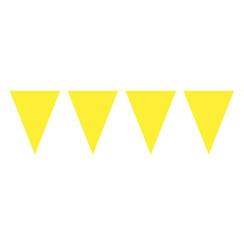 Gele vlaggenlijn/ 10mtr