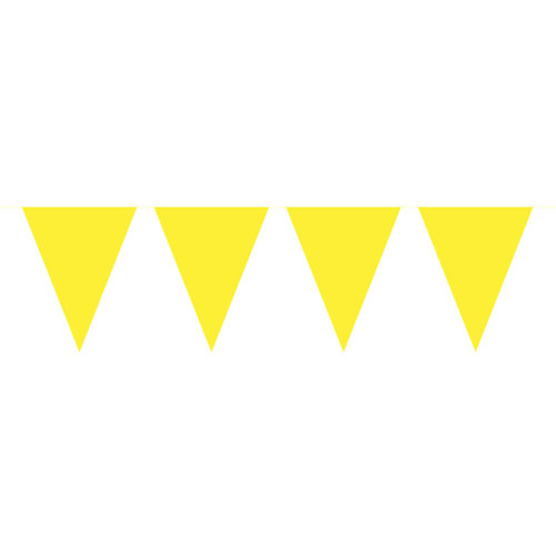 Folat Gele vlaggenlijn/ 10mtr