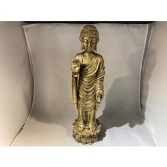 Thaise boeddha - staand goud