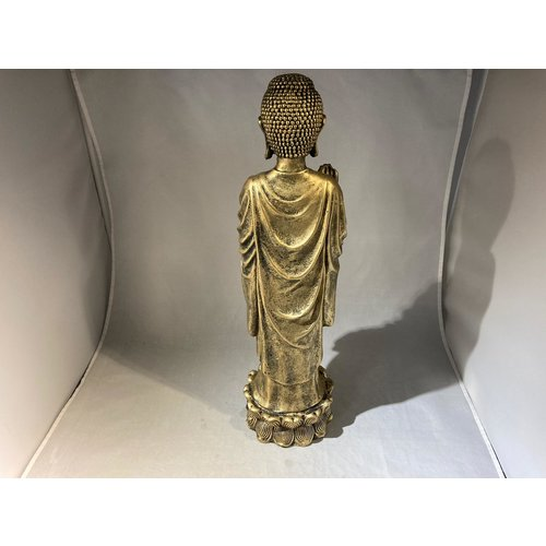 deco Thaise boeddha - staand goud
