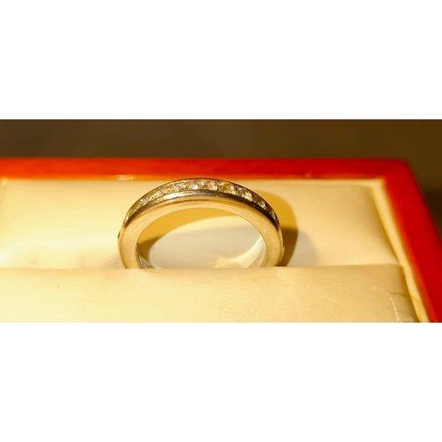 blush Blush ring witgoud met zirconia's