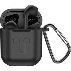 Hoco Black AirPods + Wireless Charging Case + Black Sleeve