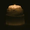 deco Seleniet Waxinelichthouder Waterval – 8 x 8 cm (ca. 600 gram)