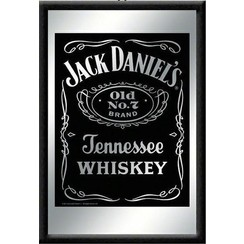 Jack Daniel's Logo Spiegel 22 x 32 cm.