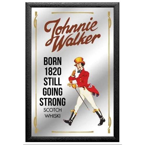 nostalgic art Spiegel Johhnie Walker 32x22cm