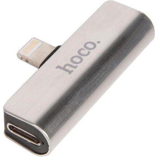 Hoco Hoco Lightning naar 3,5mm jack (Aux) converter