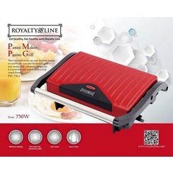 Royalty Line PM-750.1 - Contactgrill - Rood