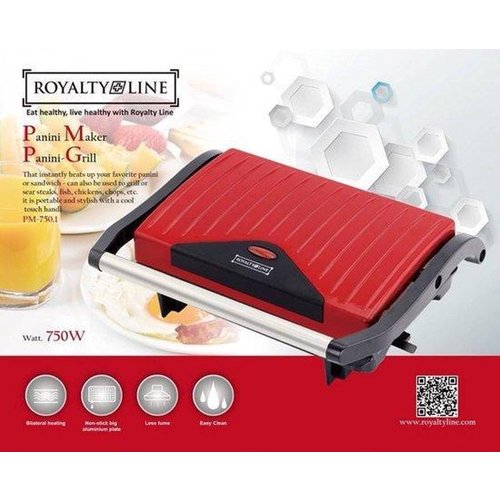 Royalty Line Royalty Line PM-750.1 - Contactgrill - Rood