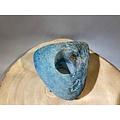 deco Agaat theelichthouder in blauw