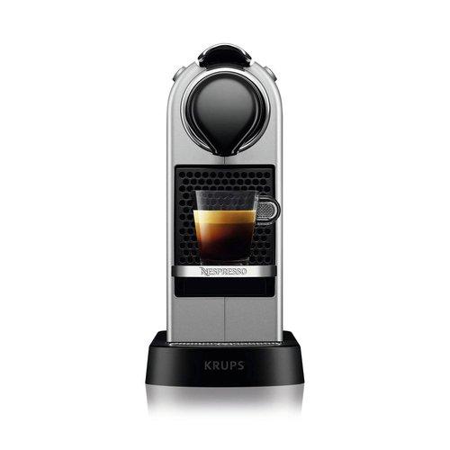 Krups Nespresso Krups koffieapparaat CitiZ XN741B (Zilver)