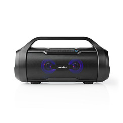 Nedis Party-boombox 6 Uur Speeltijd Bluetooth® Tws Party-lichten Zwart