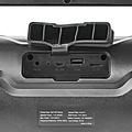 nedis Nedis Party-boombox 6 Uur Speeltijd Bluetooth® Tws Party-lichten Zwart