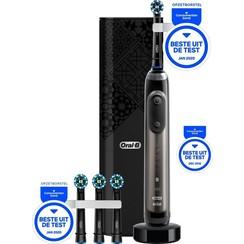 Oral-B Genius X 20000 - Luxe Edition Antracietgrijs - Elektrische Tandenborstel - 1 Handvat en 4 Opzetborstels