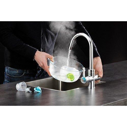 Selsiuz Selsiuz 3-in-1 Kokend-Water Kraan met Combi Boiler en Ronde Kraan Chroom