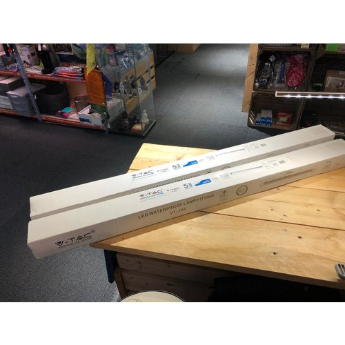 V-TAC LED (monochrome) Built-in light bulb Rod 60 W Cool white (L x W x H) 1200 x 1200 x 70 mm 1 pc(s)