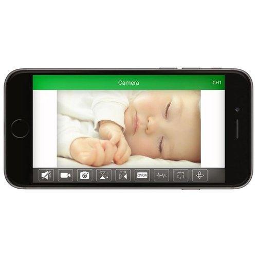 Alecto Alecto IVM-100 Babyfoon met camera - Wit
