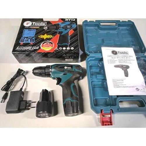 f tools F-Tools Schroefboormachine 18V 2.0 Ah