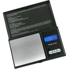 Precisie weegschaal - Van 0,01 tot 200 gram - Zwart