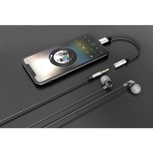 durata Durata Lightning naar 3.5mm Headphone Jack - Audio Adapter
