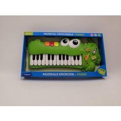 Muzikale krokodil piano