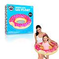 Bigmouth inc Opblaasbare Badring Donut Donut PINK 68cm